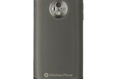 Rear view of the LG Optimus 7