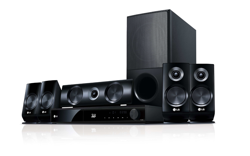 LG's premium Blu-ray 3D Disc™ Home Theater System lineup