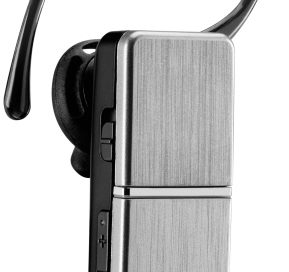 Front view of LG HBM-810 Bluetooth headset