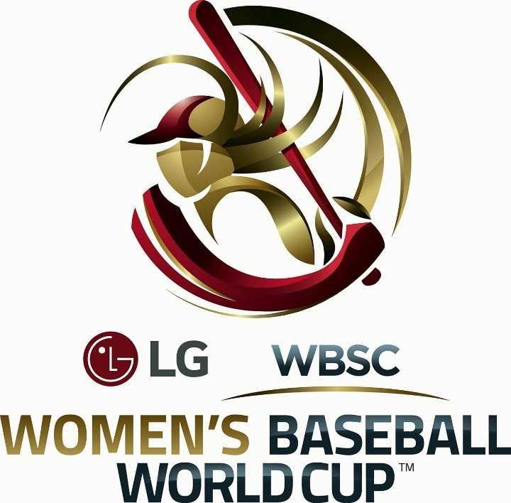 Logo of the LG-supported WBSC Women's Baseball World Cup 2016