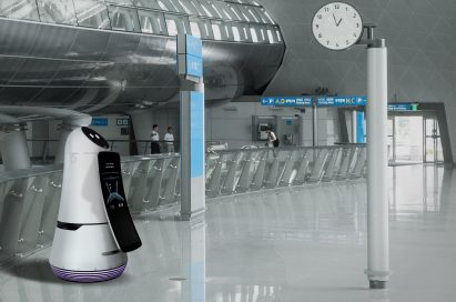LG Airport GuideBot at Incheon International airport