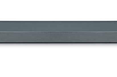 A front view of LG Soundbar model SL9YG
