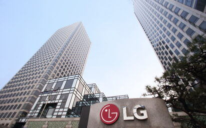 A picture of LG Twin Towers in the daytime