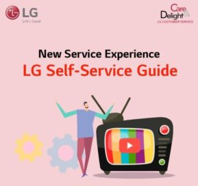 Poster for the LG Self-Service Guide
