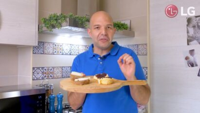 Chef Marques explains how he prepared simple-to-make dishes with LG NeoChef