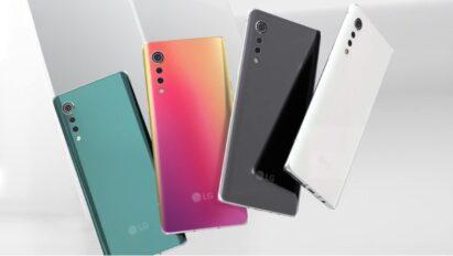 The four expressive colors of LG VELVET