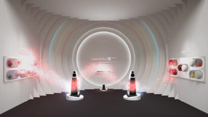 The LG XBOOM, LG SoundBar and LG Tone lineups complete a mesmerizing sound wave as part of the audio stop on LG's virtual exhibition tour