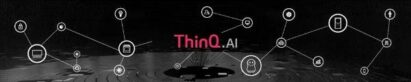 The LG ThinQ AI banner showing all the appliances and devices it brings together into one complete home solution