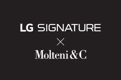 Logo of the LG SIGNATURE and Molteni&C collaboration