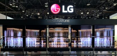 LG SIGNATURE OLED R featured at the LG Electronics CES 2020 Booth