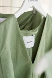 Clothes created under collaboration with Bondi Born
