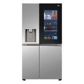 Front view of new LG refrigerator with Seamless InstaView® Door-in-Door®
